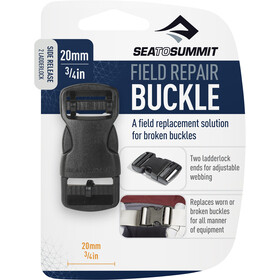 Sea to Summit Field Repair Buckle 20mm, Ouverture latérale